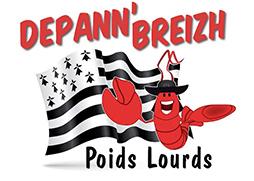 Depann'Breizh Poids Lourds Logo